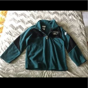 Kids NFL Philadelphia Eagles Fleece Pullover